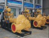 Doppeltes Saugschleuderpumpe, aufgeteilte Fall-Pumpe, hohe Fluss-Wasser-Pumpe, horizontale Strömung-Pumpe