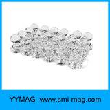 Gebruik van de Spelden van de Duw van de kleur het Magnetische voor de Magneten van Kaarten, de Magneten van de Kalender, Magneten Whiteboard