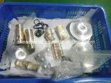 Pezzi meccanici di CNC per le parti dell'Accessorio-Alluminio di illuminazione/parti di plastica