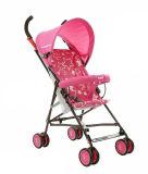 Rosafarbener Farben-Kinderwagen-Spaziergänger von der Fabrik