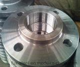 A105 a modifié la bride vissée filetée par norme ANSI d'acier du carbone d'ASME