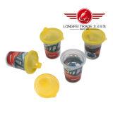 처분할 수 있는 착색된 선전용 플라스틱 컵