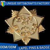 Distintivi su ordinazione materiali del regalo del metallo del buon metallo di prezzi