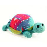 귀여운 해양동물 연약한 채워진 견면 벨벳 큰 눈 거북 장난감