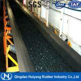 Correa de goma del transportador resistente de la tela para la explotación minera