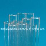 Éprouvettes inférieures en verre de Borosilicate dans la couleur claire