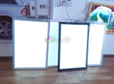 Grande taille Hang Wall Banner Display LED Lightbox, Durable Pet Film