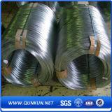 500 Kilogramm pro Rolle galvanisierten Stahldraht mit Fabrik-Preis