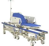 병원 스테인리스 참을성 있는 수송 비상사태 들것 트롤리