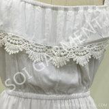 Nueva señora Ruffle Dress del diseño para las muchachas y señora (DR-46)