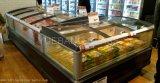 Porta de vidro de deslizamento para o congelador horizontal