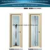O alumínio articulado/porta do Casement/banheiro com camada dobro moderou
