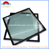 Vidrio aislador templado aislado E inferior de la doble vidriera