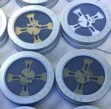 El juguete más nuevo de EDC el metal esquelético de Fidget del hilandero de la aleación de aluminio de la aleación