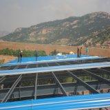 Portal de estructura de acero estructura de construcción de taller, almacén, cobertizo