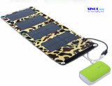 caricatore solare portatile pieghevole del comitato solare 7W per Smartphones, GPS, Ereaders, macchina fotografica di Gopro