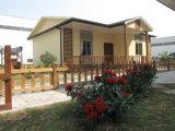 Casa prefabricada de dos pisos prefabricada moderna