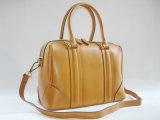 Últimos desenhos elegantes de bolsas de couro genuíno para coleções para mulheres