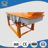 Máquina de vibração da peneira da areia linear do aço de carbono de China