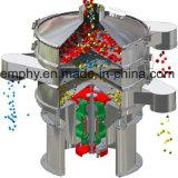 스테인리스 플라스틱 Pulverizer를 위한 원형 회전하는 진동체 스크린 장비