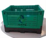 Zusammenklappbarer Ladeplatten-Plastikbehälter der Standplatz-Bedingungs-1200X1000