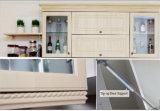 Het moderne Meubilair van de Keuken van de Omslag van de Keukenkasten van pvc van het Ontwerp Vinyl (zc-045)