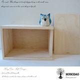 Hongdao 단순한 설계 선물 도매 _E를 위한 Handmade 자연적인 소나무 수송용 포장 상자