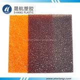 Arancio e scheda del diamante del PC del policarbonato impressa Brown