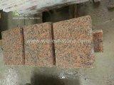 Carrelage de granit rouge érable