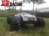 1/10대의 전기 대형 트럭 2.4G 4WD 고속 off-Road RC 차