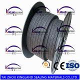 (KLP243) Embalaje trenzado del grafito PTFE con gran precio