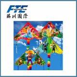 Vlieger van de Kunstvliegen van de plaid de Promotie voor Openlucht