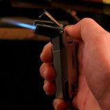 Кольцо честного Windproof лихтера факела бутана нержавеющей стали ключевое (ES-EB-069)