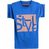 T-shirt rond d'impression de douille de circuit de cou