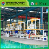 Linha de produção horizontal do painel de sanduíche do EPS da parede da máquina de molde de Tianyi