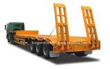 Cimc Merk Drie Semi Aanhangwagen van het Bed van Assen de Lage