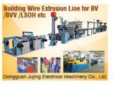 Ligne d'extrusion de fil de Building&Security (machine d'extrusion de Cable&Wire)