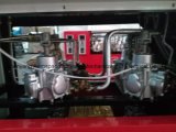 Erogatore del combustibile (un ugello, due video, un contatore)