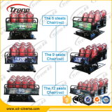 Vente portative hydraulique de cinéma de Xd de 8 portées des ventes 7D de projet chaud de cinéma