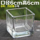Garrafa de vidro criativa longa e fina de flor de decoração para decoração