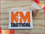 Étiquette en caoutchouc de PVC en caoutchouc de cadeau d'affaires d'étiquette de promotion