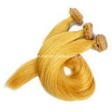 De Inslag van het Menselijke Haar van de Kleur van de blonde