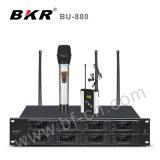 Sistema sem fio do microfone da multi canaleta Bu-880