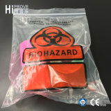 Sacos Destroyable de Tearzone da Triplo-Parede do símbolo de Ht-0792 Biohazard