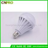 Ampla faixa de tensão E27 5W 7W 9W 12W LED Iluminação de lâmpada de emergência inteligente