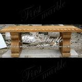 Marmeren Bank & Bank mbt-369 van het Graniet van de Steen van het Calcium van de Lijst Gouden