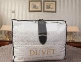Tela 100% de algodão que enche o Quilt branco luxuoso do Duvet do pato para baixo