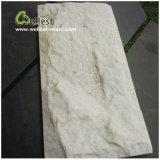 Ql-039 White Slate 또는 Quartzite Wall Cladding Stone Mushroom Stone
