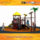 Veggie House Kids Outdoor Playground Equipment para School e Amusement (2014SG-16301)