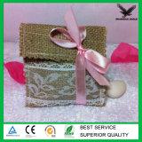 高品質の模造宝石類の小さいジュート袋のギフト
